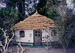 African mud hut (with some creature comforts!)