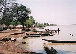 Boats at Kudang, The Gambia