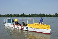 Solar Queen boat, The Gambia